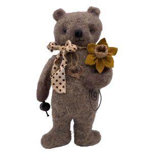 Felted Teddy Bear-Needle Felted Animal